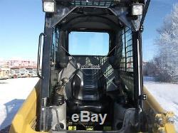 1/2 216 B to 287B Lexan CAT SKID STEER DOOR and SIDES! Loader