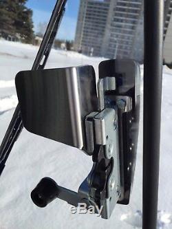 1/2 LEXAN DOOR! Bobcat T650, T650, T750 WILL NOT BREAK! Skid steer loader