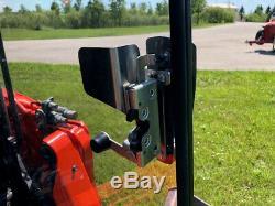 1/2 Lexan All SVL 90 92 95 Kubota Poly EXTREME FORESTRY DOOR skid steer loader