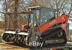1/2 Lexan SVL 95-2 Kubota EXTREME FORESTRY door allSVL models skid steer loader