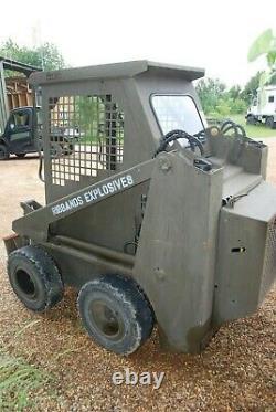 1110 Hr Belle 7400 Skid steer loader (Bobcat) +forks, bucket, spare tyres. +VAT