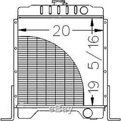 1347609C1 Radiator for Case IH Skid Steer Loader 1840 1845C With Diesel