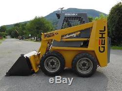 1997 Gehl 3825sx Rubber Tire Skid Steer Loader