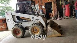 2001 Bobcat 863G Skid Steer Loader Coming Soon