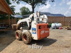 2002 Bobcat 773G Skid Steer Loader with Cab Only 1700 Hours Coming Soon