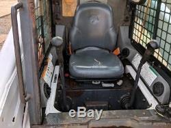 2004 Bobcat S250 Skid Steer Loader Cab, Heat/AC, 1040 hours