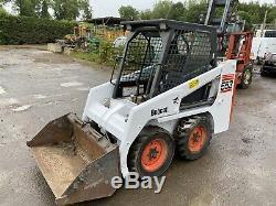 2005 Bobcat 553 Skid Steer Loader Skid Digger Excavator Backhoe