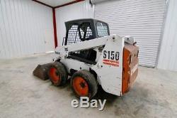 2005 Bobcat S150 Wheel Skid Steer Loader, 46 Hp, Operating Weight 5935 Lbs