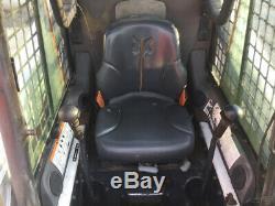 2005 Bobcat S220 Skid Steer Loader with Cab A/C & Kubota Diesel Engine