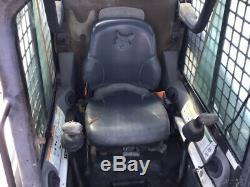 2005 Bobcat T250 Compact Track Skid Steer Loader with Cab Kubota Engine 2400Hrs