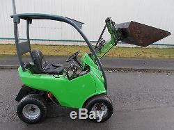 2007 Avant 220 loader skid steer Mini digger excavator opico skidster kanga kid