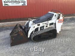 2007 Bobcat MT55 Stand On Track Skid Steer Loader Only 1400 Hours