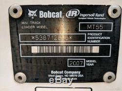 2007 Bobcat MT55 Track Skid Steer Loader