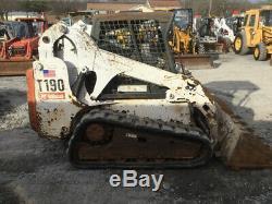 2007 Bobcat T190 Compact Track Skid Steer Loader