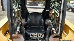 2008 John Deere 325 Skid Steer Loader CAB Heat & A/C
