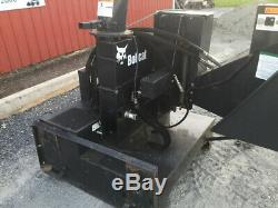 2010 Bobcat WC8 Wood & Brush Chipper Attachment For Skid Steer Loaders