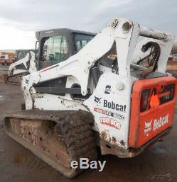 2011 Bobcat T870 Compact Track Skid Steer Loader with Cab & High Flow Coming Soon