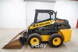2011 New Holland L218 Wheeled Skid Steer Loader, Open Rops, 57 HP