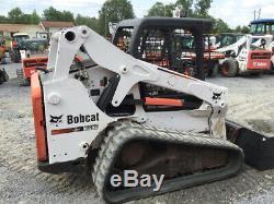 2012 Bobcat T650 Compact Track Skid Steer Loader with Kubota Diesel