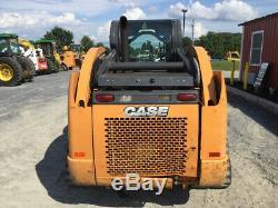 2012 Case TV380 Compact Track Skid Steer Loader with Cab Joystick 2Spd