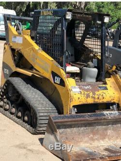 2012 Caterpillar 257B3 Compact Track Skid Steer Loader with New Tracks