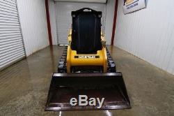2012 Caterpillar 259b3 Cab Skid Steer Track Loader, 71 HP