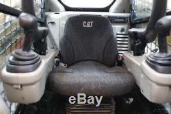 2012 Caterpillar 289c Cab Track Skid Steer Loader, Ac/heat, Pilot Controls
