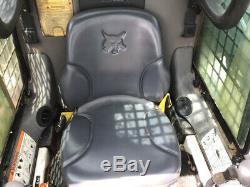 2013 Bobcat T190 Skid Steer Loader with Cab