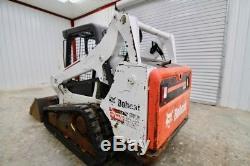 2013 Bobcat T590 Skid Steer Track Loader, 6000 Lb Tipping Load, Only 1170 Hours