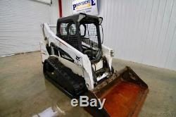 2013 Bobcat T590 Skid Steer Track Loader, 6000 Lb Tipping Load, Only 1276 Hours