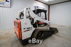 2013 Bobcat T590 Skid Steer Track Loader, 6000 Lb Tipping Load, Only 1404 Hours