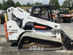 2013 Bobcat T750 Compact Track Skid Steer Loader with Kubota Diesel