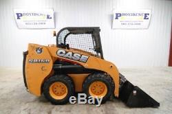 2013 Case Sr160 Skid Steer Wheel Loader 57 Hp, 5340 Lbs Oper Weight, 1596 Hrs