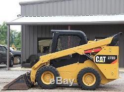 2013 Caterpillar 272d Skid Steer- Skid Loader- Loader- Cat- 24 Pics