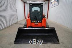 2013 Kubota Svl 90-2fc Cab Skid Steer Track Loader, Ac/heat, High Flow