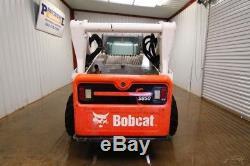 2014 Bobcat S850 Cab Skid Steer Wheel Loader, Ac/heat, 2-speed, 100 Hp, 2 Speed