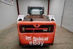 2014 Bobcat T550 Skid Steer Track Loader, High Flow, Open