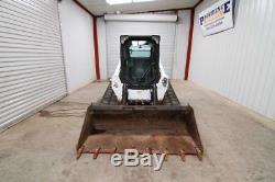 2014 Bobcat T750 Cab Skid Steer Track Loader, 81hp, Ac/heat