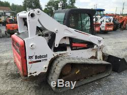 2014 Bobcat T770 Compact Track Skid Steer Loader with Cab Only 1900Hrs