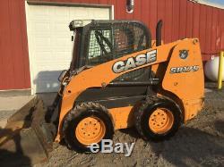 2014 Case SR175 Skid Steer Loader with Cab