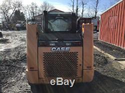 2014 Case TR270 Compact Track Skid Steer Loader with Cab Joysticks Only 600 Hours
