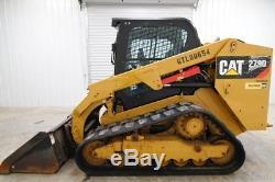 2014 Cat 279d Cab Track Loader Skid Steer, Ac/heat, Only 949 Hrs