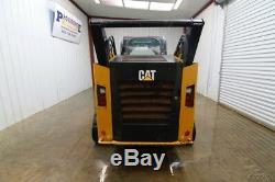 2014 Cat 289d Cab Track Loader Skid Steer, 2-speed, 73 HP