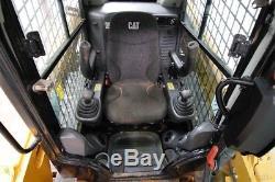 2014 Caterpillar 259d Cab Track Skid Steer Loader, Ac/heat, 73 HP