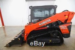 2014 Kubota Svl 75-2, 2-speed Cab Skid Steer Track Loader, Ac/heat, Radio