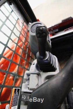 2014 Kubota Svl 90-2fc Cab Skid Steer Track Loader, Ac/heat