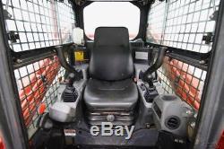 2014 Kubota Svl75hwc Cab Skid Steer Track Loader, Only 922 Hrs