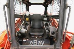 2014 Kubota Svl90-2hfc Skid Steer Track Loader, Cab, Ac/heat/radio, High Flow