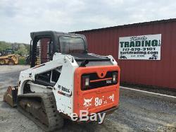 2015 Bobcat T450 Compact Track Skid Steer Loader with Joystick Only 800 Hours