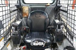 2015 Bobcat T590 Skid Steer Track Loader, Open Rops, High Flow, Pilot Controls